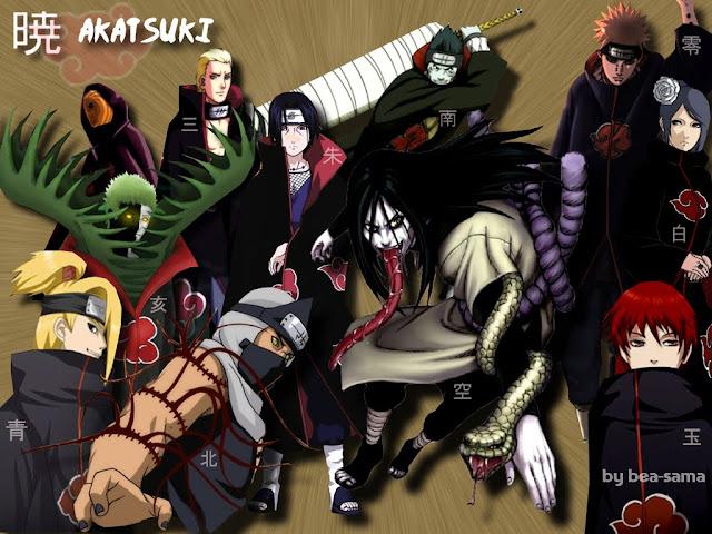 Akatsuki Naruto Cards
