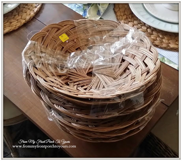 Baskets-Thrift Store Shopping- From My Front Porch To Yours
