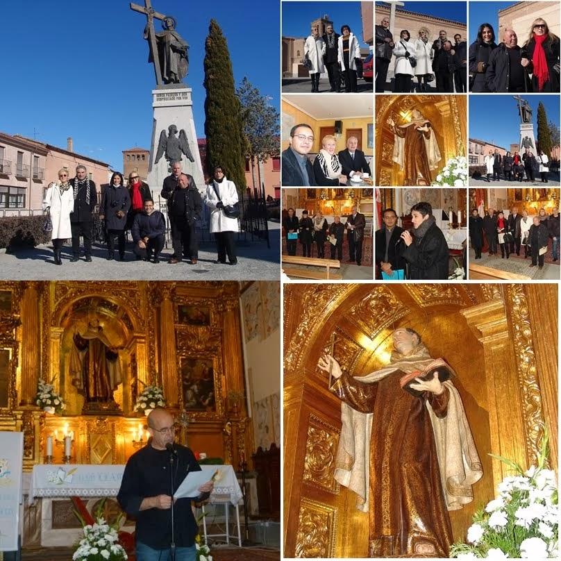 Recitando al poeta San Juan de la Cruz