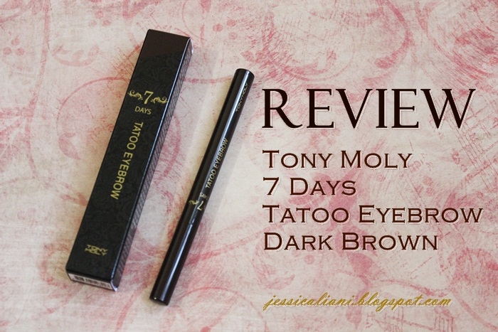 Sponsored Review Tony Moly 7 Days Tatoo Eyebrown 2 Dark Brown