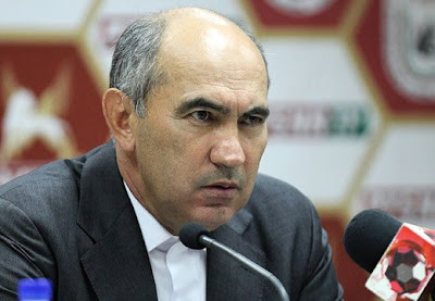 На фото: главный тренер «Рубина» Бердыев
