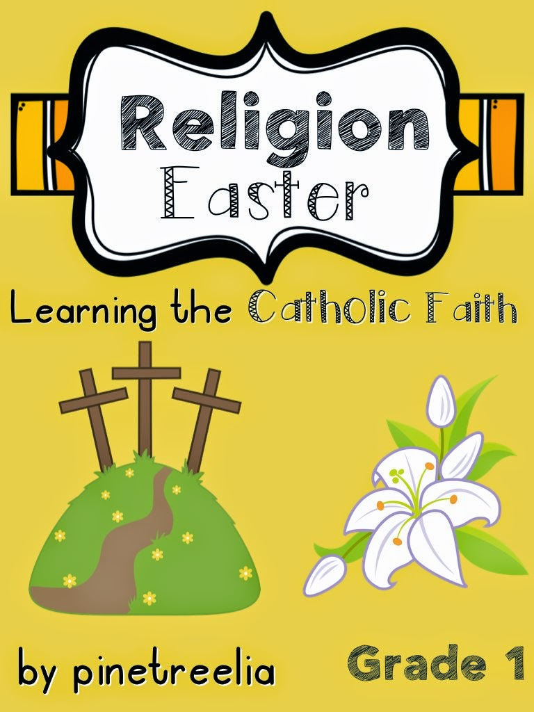 first grade grade 1 religion packet