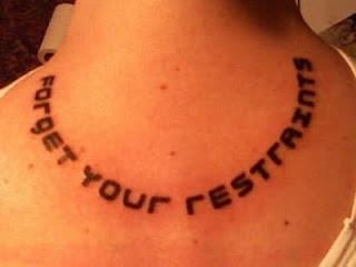 font  3d tattoos