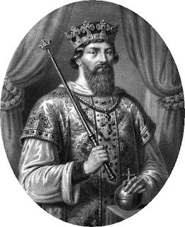 Kazimierz I Odnowiciel - grafika Aleksandra Lessera