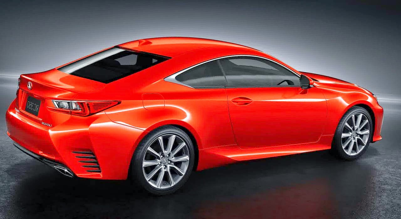 2015 lexus rc coupe concept sport car design. Black Bedroom Furniture Sets. Home Design Ideas