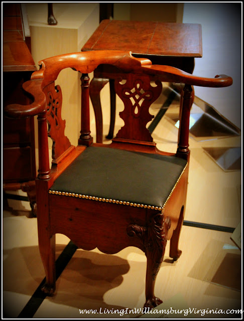 corner chair dewitt wallace decorative arts museum williamsburg virginia - Dewitt Wallace Decorative Arts Museum