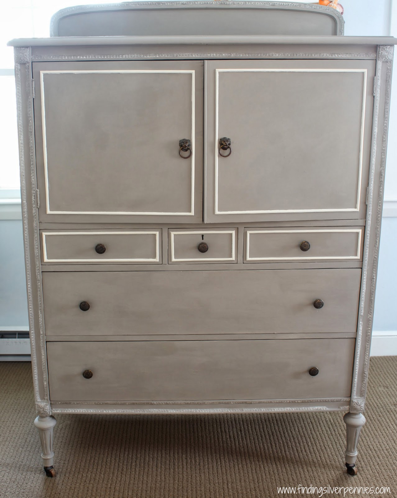 a chalk paint review the clifton armoire finding silver pennies. Black Bedroom Furniture Sets. Home Design Ideas