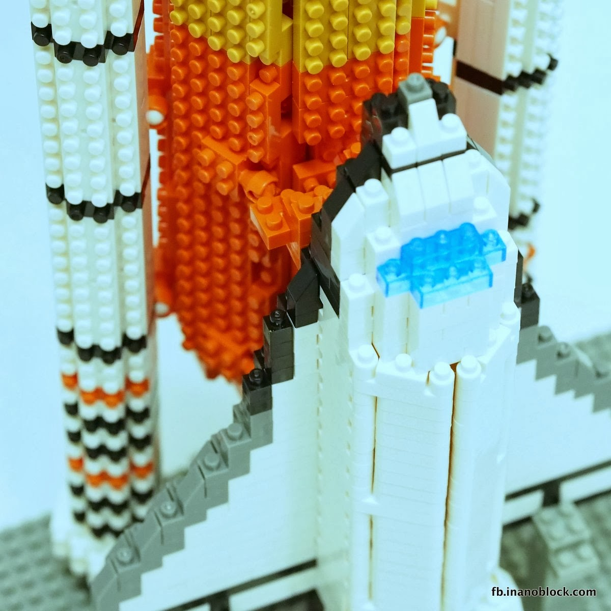 nanoblock space shuttle instructions