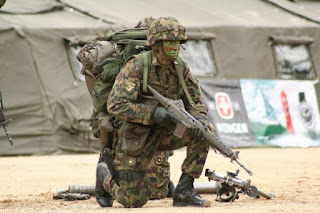 la proxima guerra soldado suiza europa