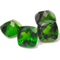 Natural Green Diopside Gemstones