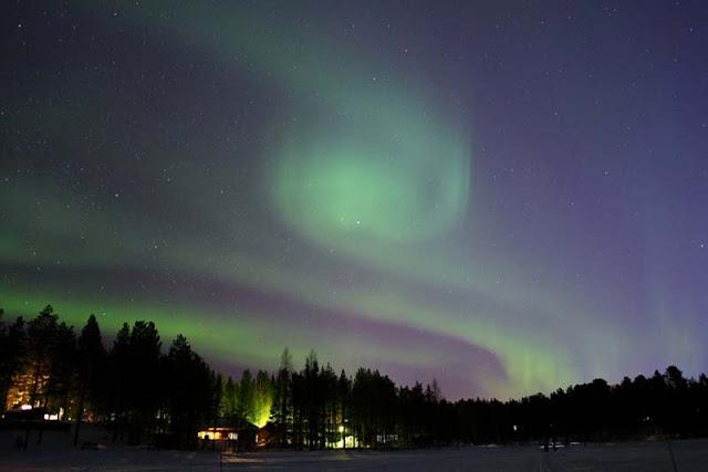 10 maravillas de la naturaleza: La aurora boreal