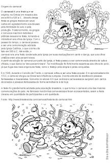 Texto informativo - Origem do Carnaval