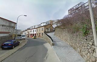 Confluencia de las calles ronda de Viriato y zona Barrioneila y calleja el Pino