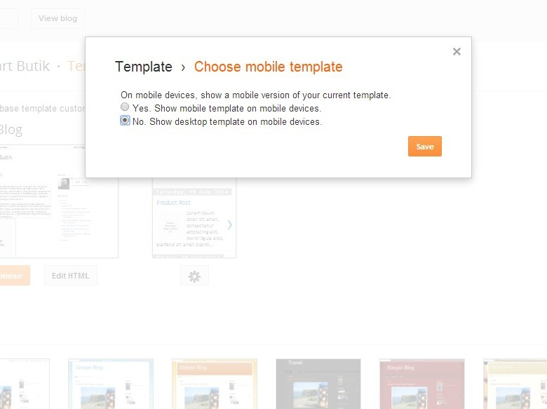 tutorial prepare custom Blogger template with shopping cart