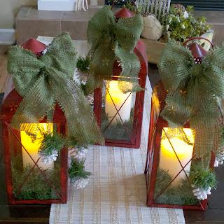 Faroles Navideños, Accesorios de Decoración