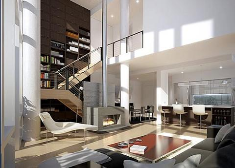 New York Loft Design Ideas