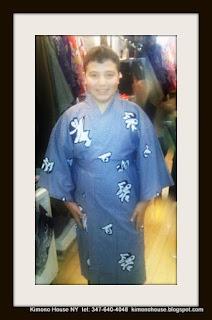 Boys Kimono from Kimono House NY 212-505-0232