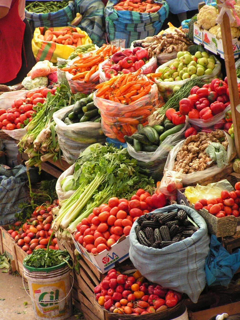 a visit to vegetable market