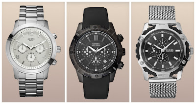 Multi dial Luxury Men's Watches, On The Town Collection GUESS Men's Watches