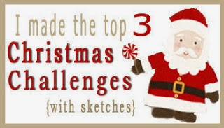 Christmas Challenges with Sketches Top 3