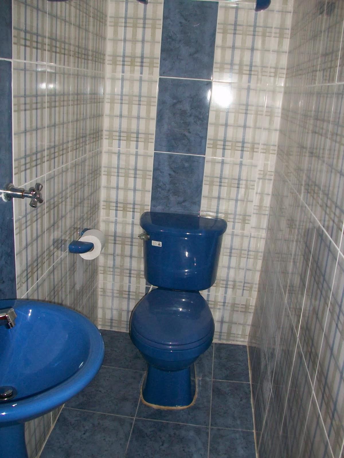 Decoracion actual de moda ba os en distintos tonos de azul - Banos azules decoracion ...
