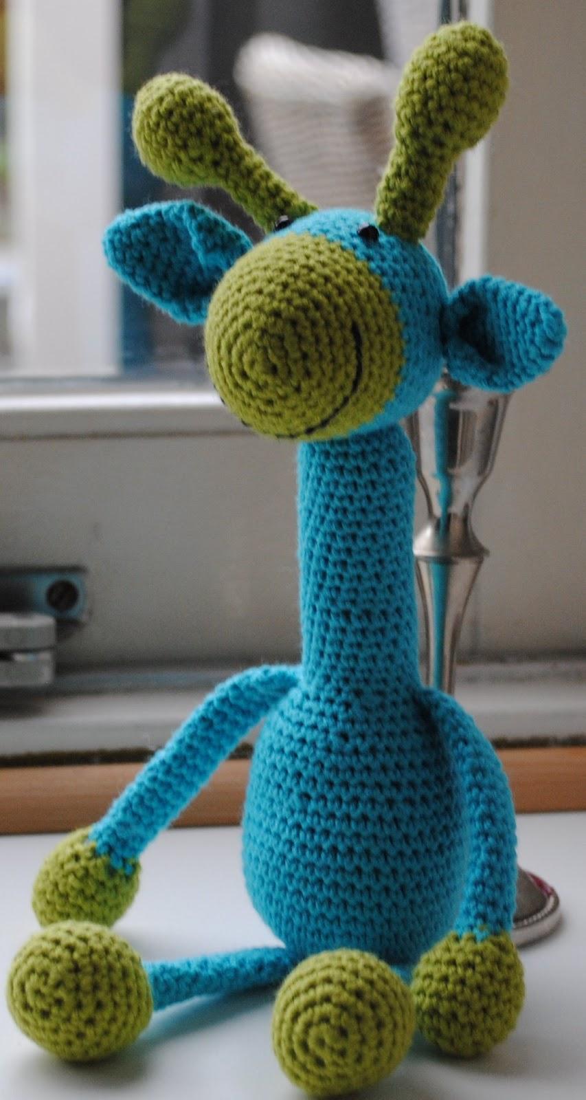 Amigurumi Giraffe Haken : Knuffies: Giraffen