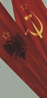 """""""Reunión entre Stalin y Enver Hoxha de marzo de 1949"""" - publicado en febrero de 2013 en el blog Crítica Marxista-Leninista - contiene link de descarga del libro de Memorias de Enver Hoxha titulado: Con Stalin Banderas+URSS+y+Albania"""