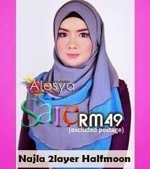 Najla 2Layer Halfmoon