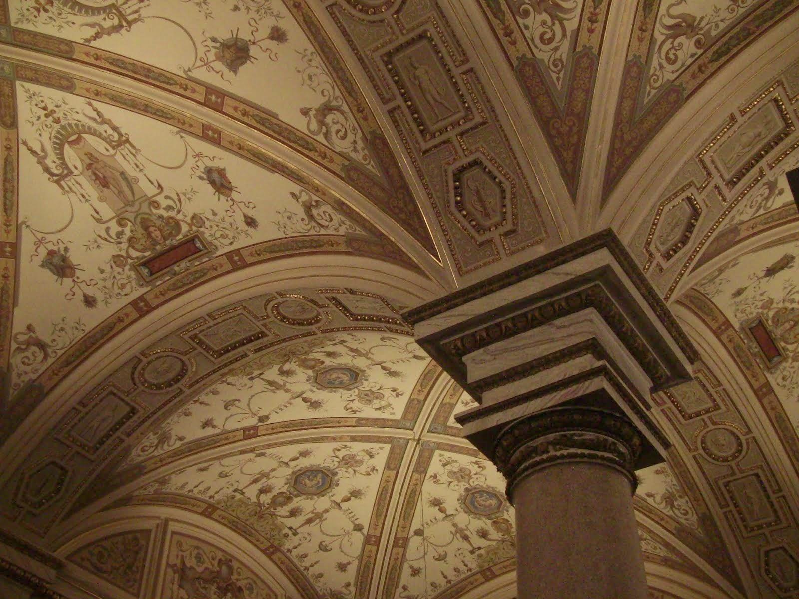 Les plafonds du Kunsthistorisches Museum de Vienne