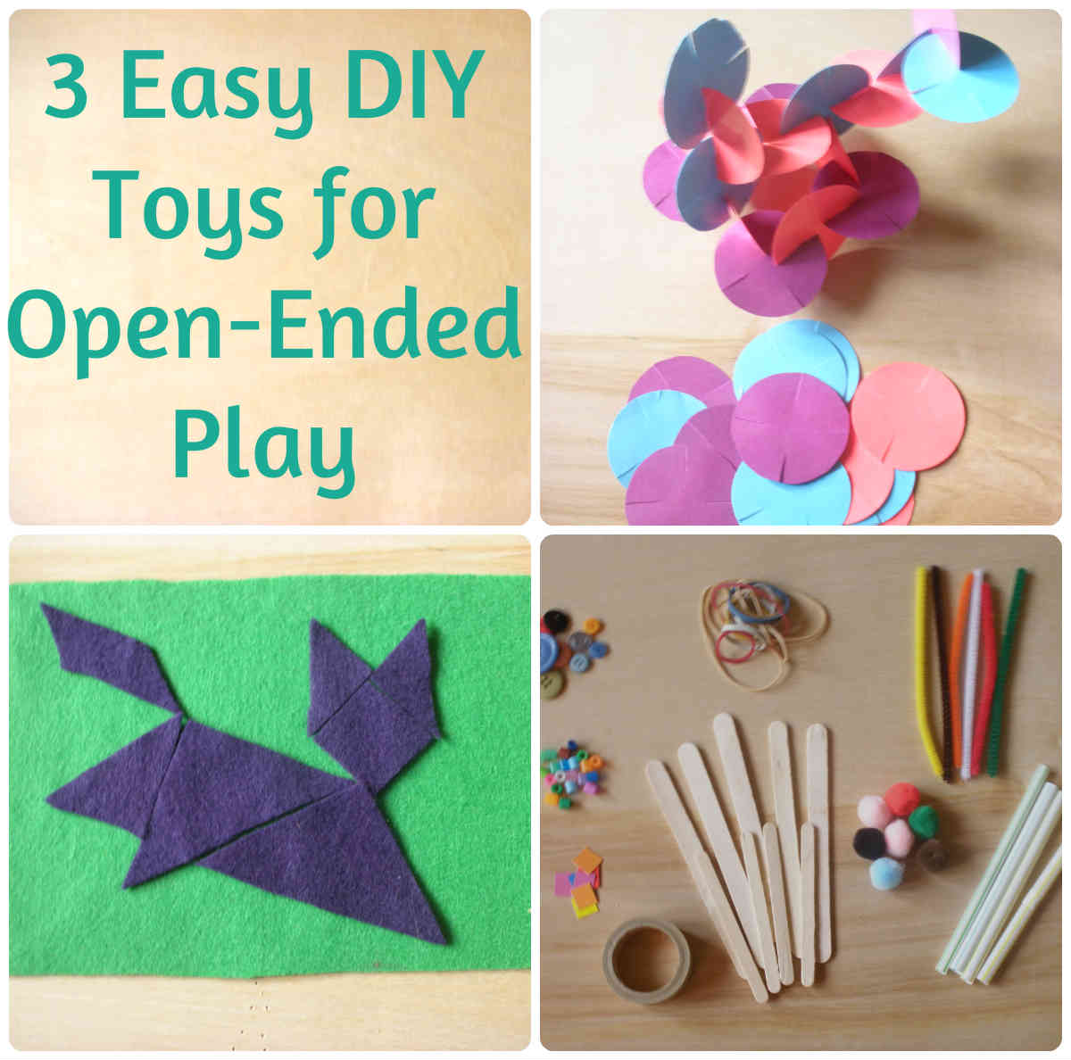 A better way three easy diy toys for open ended play with for Easy diy toys