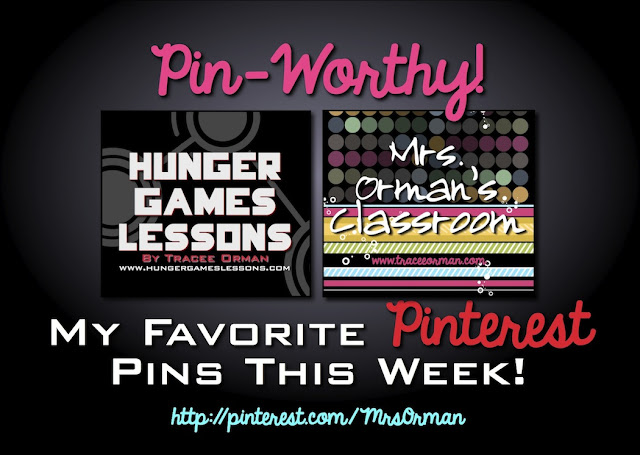 Pin-Worthy! www.hungergameslessons.com