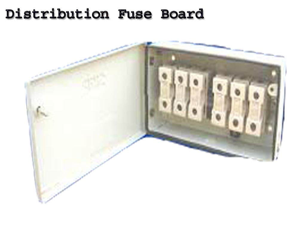 What Is Distribution Fuse Board Dfb Electrical And Electronic Box Free Learning Tutorials