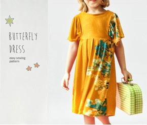 Butterfly dress pattern