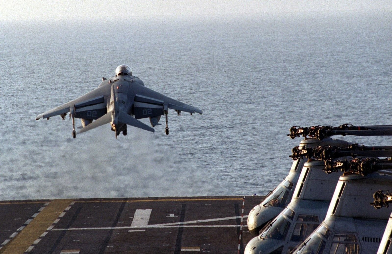 Harrier Carrier Vertical Take-off