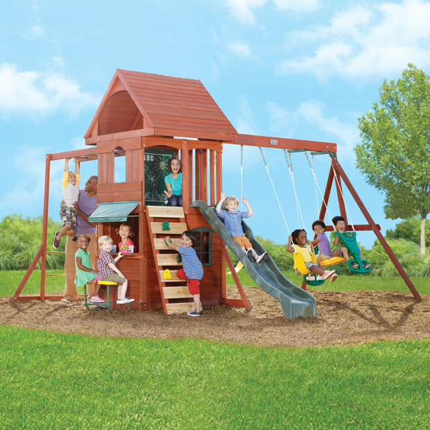 Biggest Backyard Playground : busy households Cant stop thinking about Cubby Houses