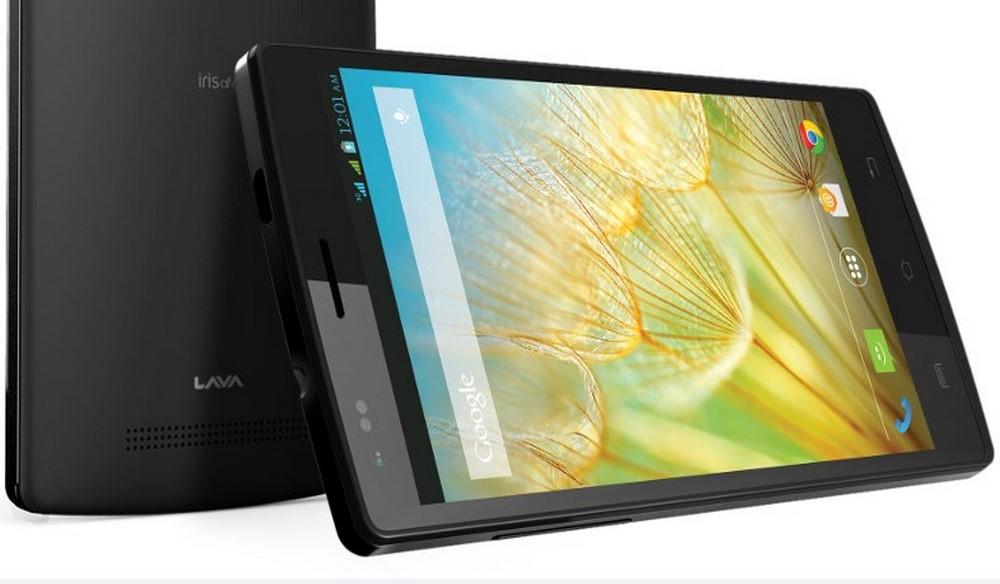 5 inç'lik Yeni Akıllı Telefon Lava Iris Alpha