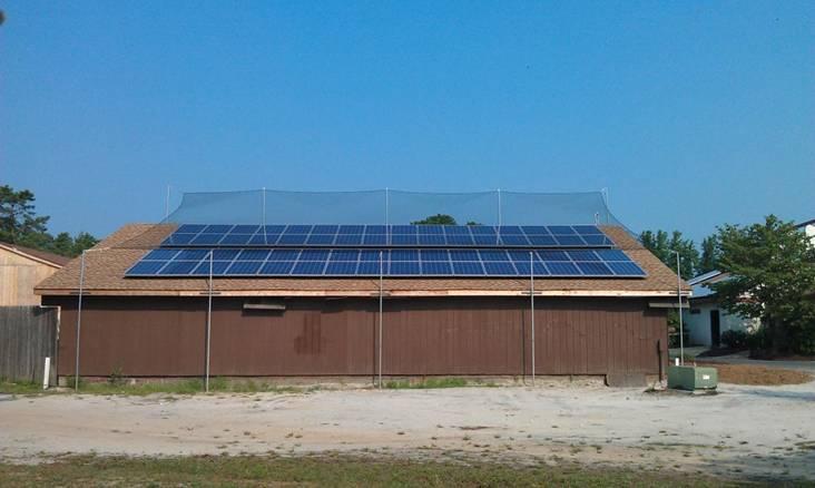 Gourock Com Netting Amp Custom Nets Solar Panel Protective