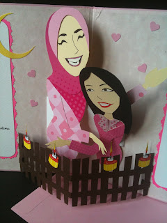 Handmade Greeting Card/Crafts-Bestfriends Made it!: Kad order dari