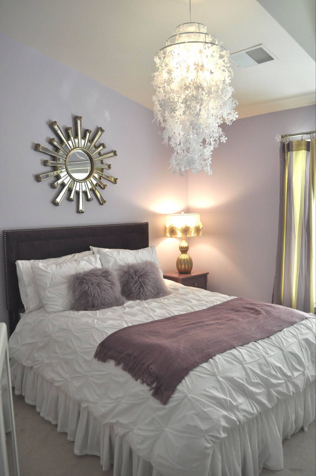 Jws interiors project complete before after tween for Bedroom ideas lilac