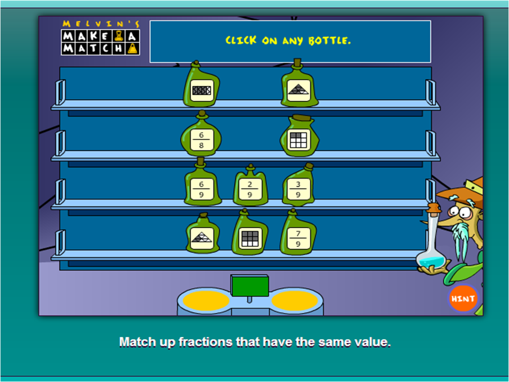 http://pbskids.org/cyberchase/math-games/melvins-make-match/