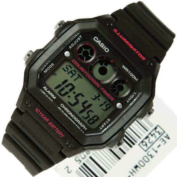 casio digital original tali karet
