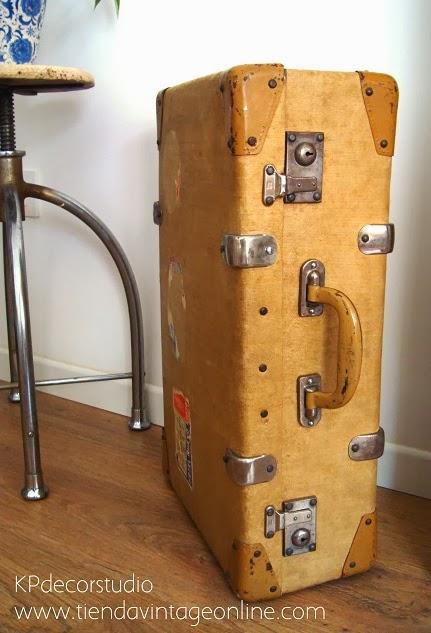 Kp tienda vintage online maletas antiguas para decorar for Maletas antiguas online