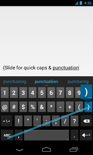 google released stock android keyboard