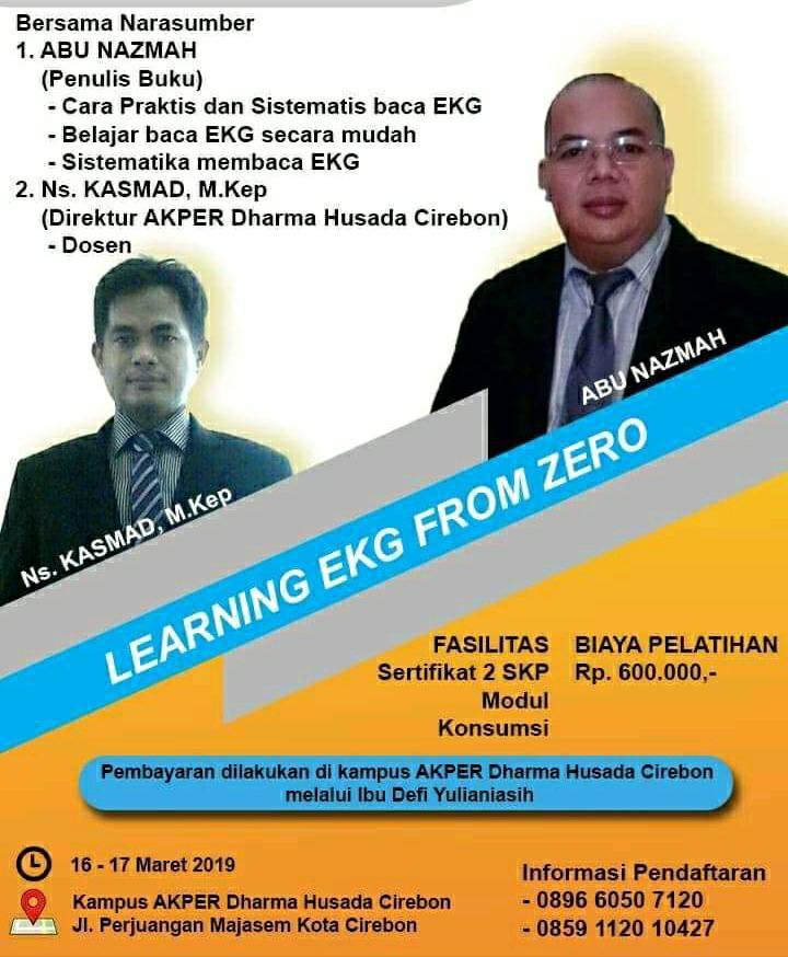 Learning EKG from Zero di Cirebon 16-17 Maret 2019