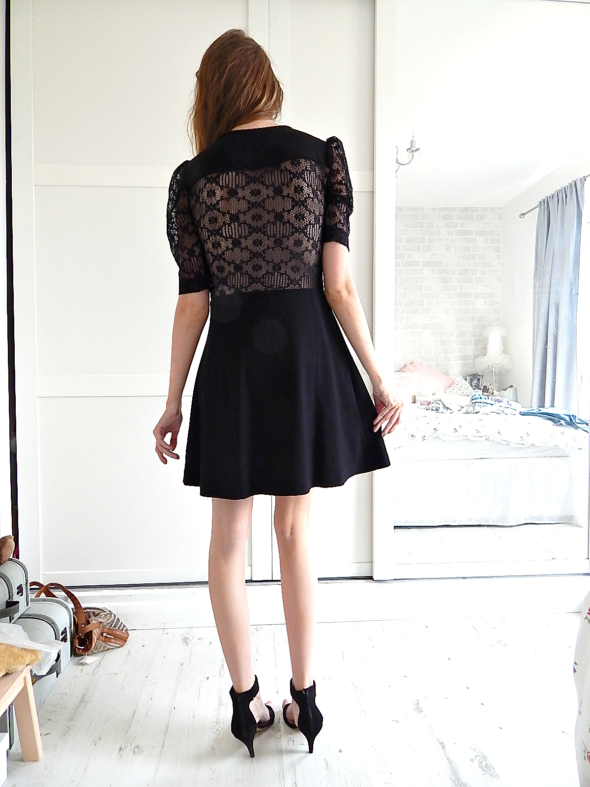 french connection valentine dress review