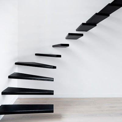 Minimalist-Floating-Stairs-Design