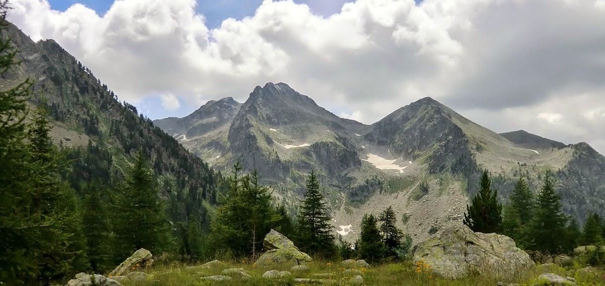 Cime d'Agnelliere 2700 m