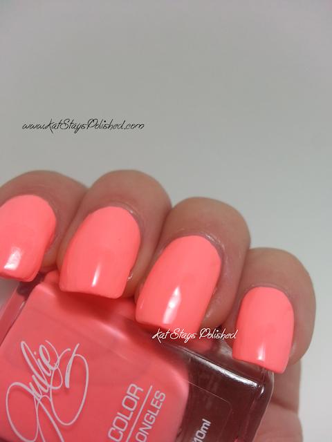 JulieG Nail Color - Bikini