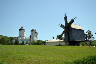 Monastery Celic Dere, Tulcea,Romania