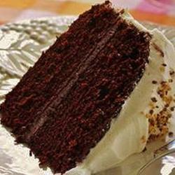Fudge fabuleux gâteau au chocolat